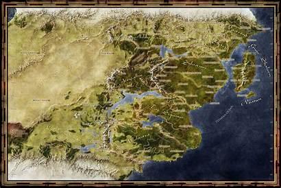 Fantasy Map Maps Shadowlands Deviantart Pathfinder Fantastic