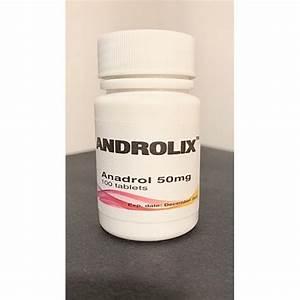 Androlix Anadrol 50 Mg    100 Tabs  A