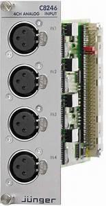 Analog Input  Xlr  - Modular Line
