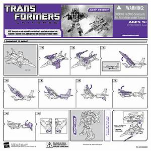 Transformers Universe Acid Storm 83665 Manuals