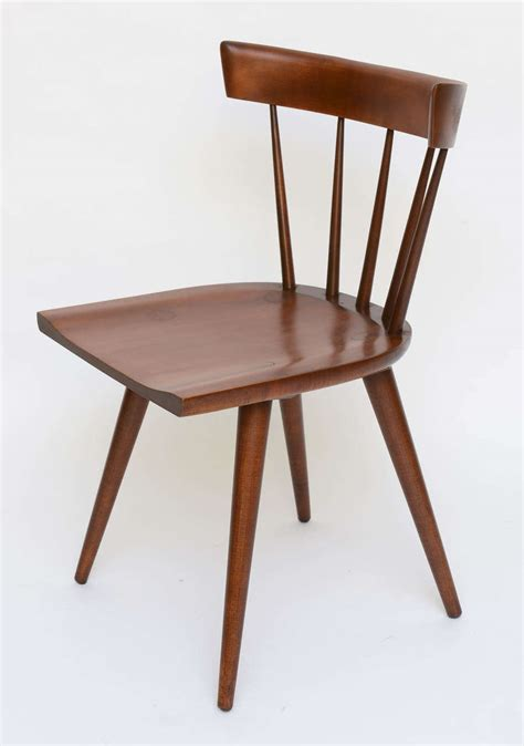 single paul mccobb spindle back chair in maple for