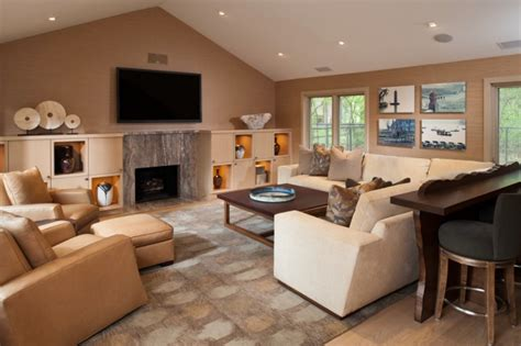 Wohnzimmer Einrichten Brauntöne by Ideen Zum Wohnzimmer Einrichten In Neutralen Farben
