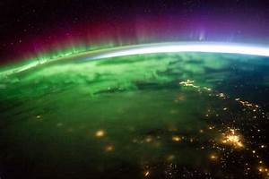 Aurora Borealis seen from Space Station ISS [HD 1080p ...