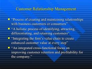 Crm objectives