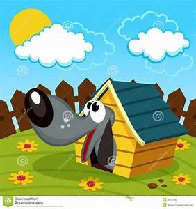 Hund Im Haus : hund im haus vektor abbildung illustration von abbildung ~ Lizthompson.info Haus und Dekorationen