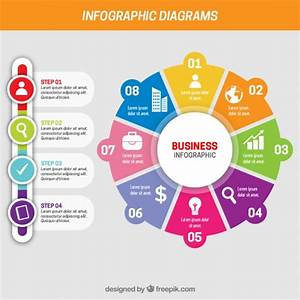 Business infographic with different steps Vector | Free ...