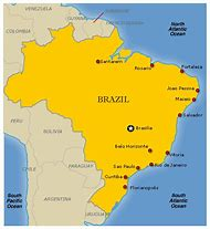Best Ideas About Brazil Map Find What Youll Love - Map of brazil with cities
