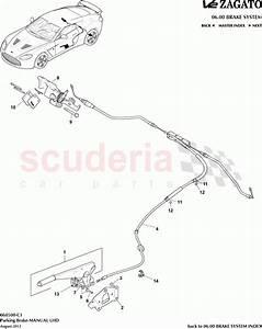Aston Martin V12 Zagato Parking Brake