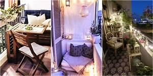 kleinen balkon einrichten und dekorieren 10 wunderschone With französischer balkon mit ideen für einen kleinen garten