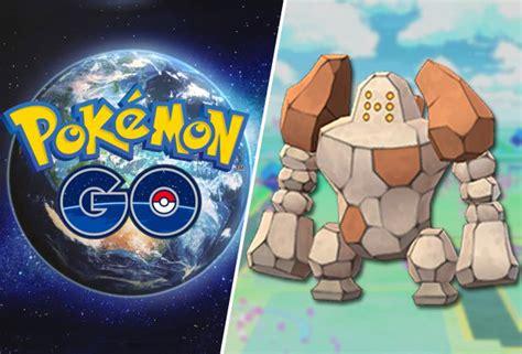 Regirock Pokemon Go Raid Counters, Weaknesses And More