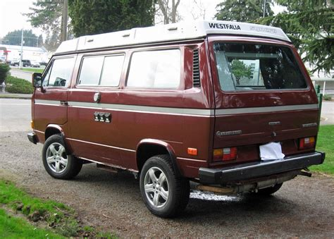 volkswagen vanagon 1987 vw vanagon syncro westfalia cer auction 37k