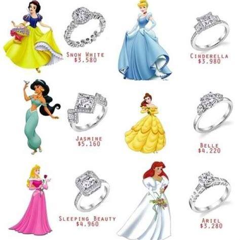 disney princess inspired wedding rings dream wedding