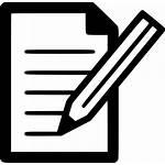 Icon Document Write Edit Compose Svg Onlinewebfonts