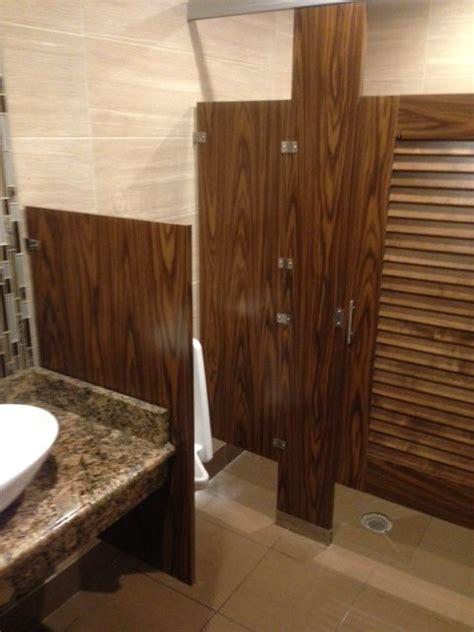 wood veneer toilet partitions images  pinterest