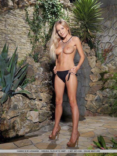 Candice In Black Panties