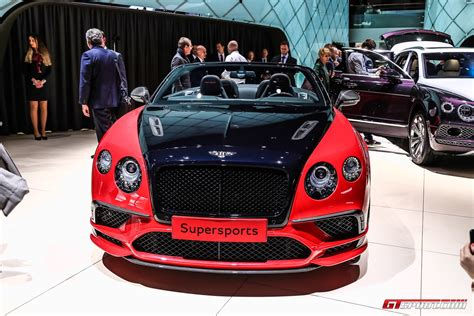 bentley geneva geneva 2017 bentley continental supersports coupe