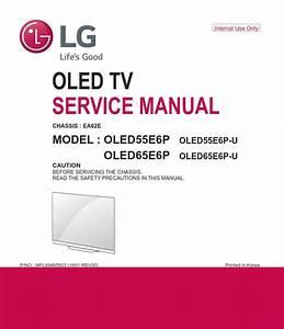 Lg Oled55e6p Oled Tv Service Manual