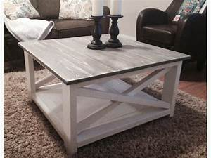 rustic farmhouse coffee table central saanich victoria With grey farmhouse coffee table