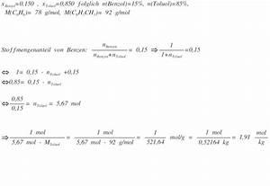 Chemie Mol Berechnen : mol molalit t von einer l sung mit bekanntem stoffmengenanteil chemielounge ~ Themetempest.com Abrechnung