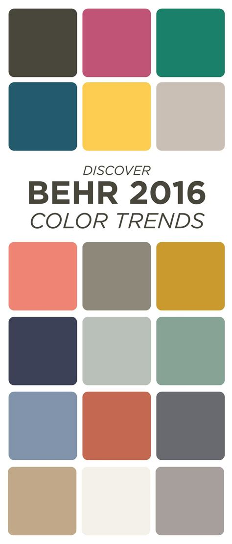 1000+ Images About Behr 2016 Color Trends On Pinterest