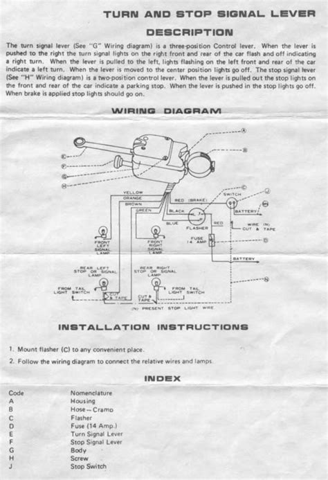 Yankee Turn Signal 730 6 Wiring Diagram by Need Wiring Help Yankee Turn Signal The H A M B