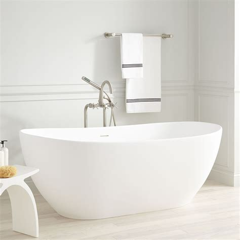 free standing bathtubs winifred resin freestanding tub bathroom
