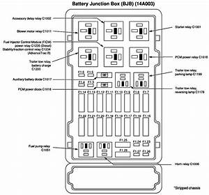 07 Ford E 450 Fuse Block Diagram