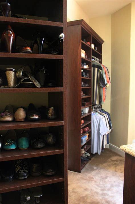 get more shoe storage and clothing organization with an