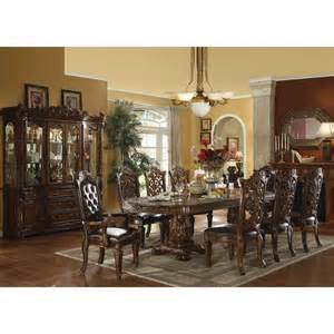 acme furniture vendome dining set in cherry best priced