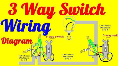 switch wiring diagrams   install youtube
