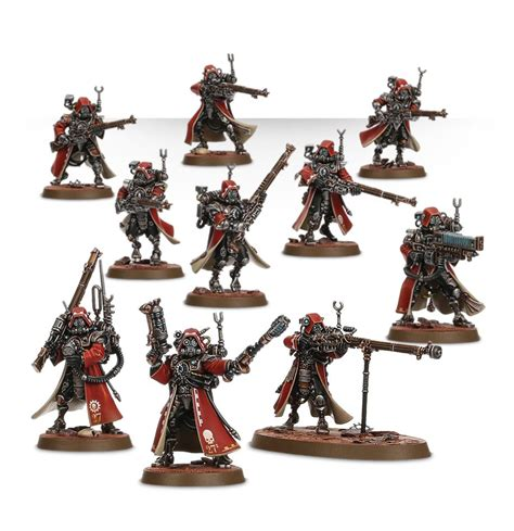 Adeptus Mechanicus Skitarii Rangers/Vanguard | Across the ...