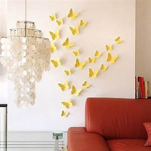 3d Schmetterlinge Wand : 3d schmetterlinge wanddekoration wanddeko wandtattoos wandsticker wand deko neu ~ Whattoseeinmadrid.com Haus und Dekorationen