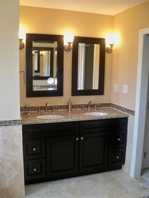 master bathroom vanity with makeup area travertine master bath with vanity makeup vanity
