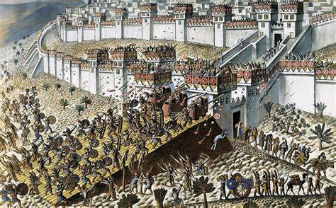 lay siege assyrian empire assyrians lay siege photograph by everett