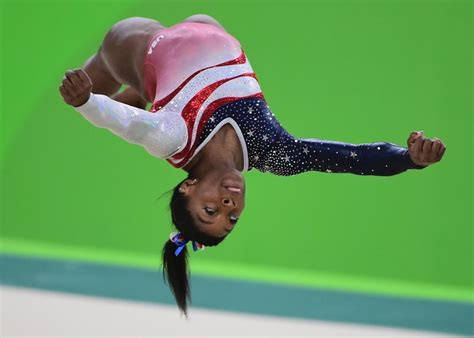 biles floor routine score the gymnastics floor at the 2016 olympics has literal