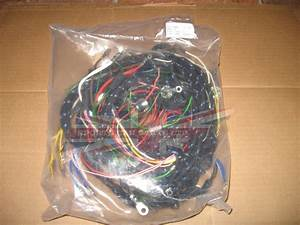 Cloth Covered Wiring Harness Austin Healey Sprite 1958