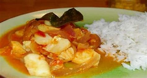 recette de cuisine reunionnaise cari poisson au gingembre recette de cuisine réunionnaise