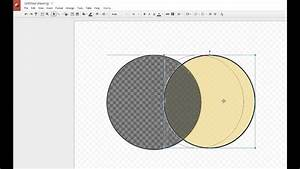 Adding Color To A Venn Diagram In Google Drawing