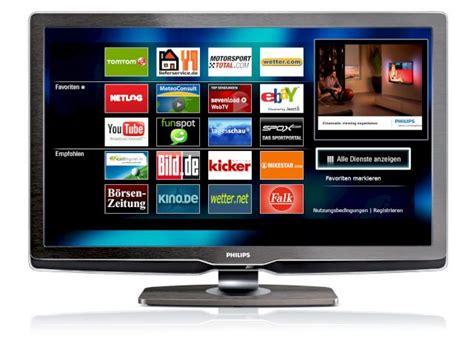 das tv geraet mit dem internet verbinden daran hapert es