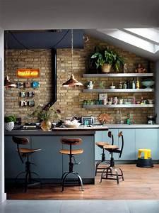 Wandgestaltung Vintage Look : bar stools vintage look interior design ideas ofdesign ~ Lizthompson.info Haus und Dekorationen