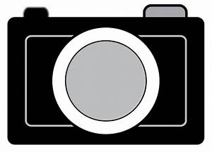 Camera Clipart Black And White | Clipart Panda - Free ...