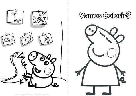 peppa pig  colorir  imprimir muito facil colorir  pintar