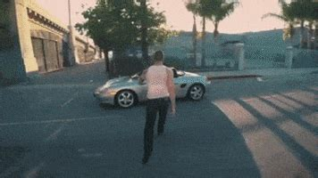 grand theft auto car gif find share  giphy