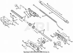 Homelite Ry43161 Electric Pole Saw Parts Diagram For