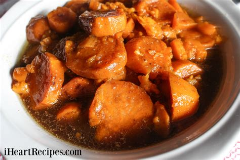 cooking yams baked candied yams soul food style i heart recipes