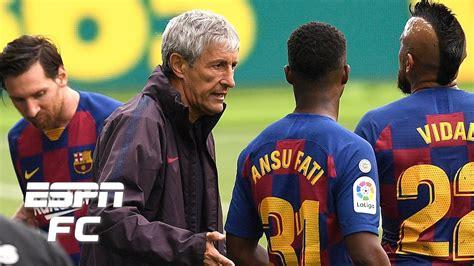 Lionel Messi ignores Barcelona's coaching staff: Is Quique ...