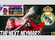 VINICIUS JUNIOR IN FIFA 17!!! 16 YEAR OLD BRAZILIAN