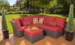 new 3 piece luxury outdoor wicker patio sectional With cadence wicker 3 piece outdoor sectional sofa set