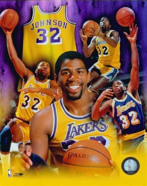 Magic Johnson Poster | Magic johnson, Magic johnson lakers ...