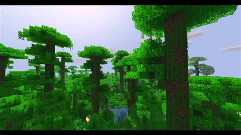 Beautiful Minecraft Landscape Youtube